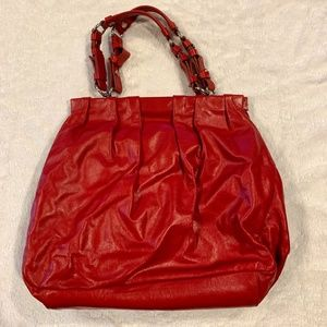 Kenneth Cole Red Leather Purse